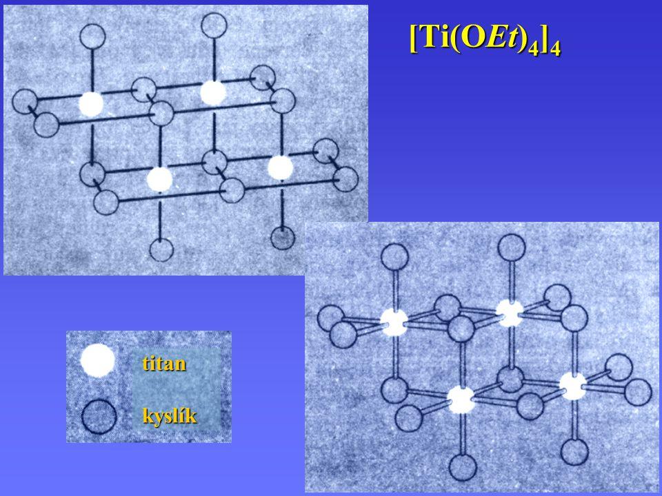 [Ti(OEt)4]4 titan kyslík